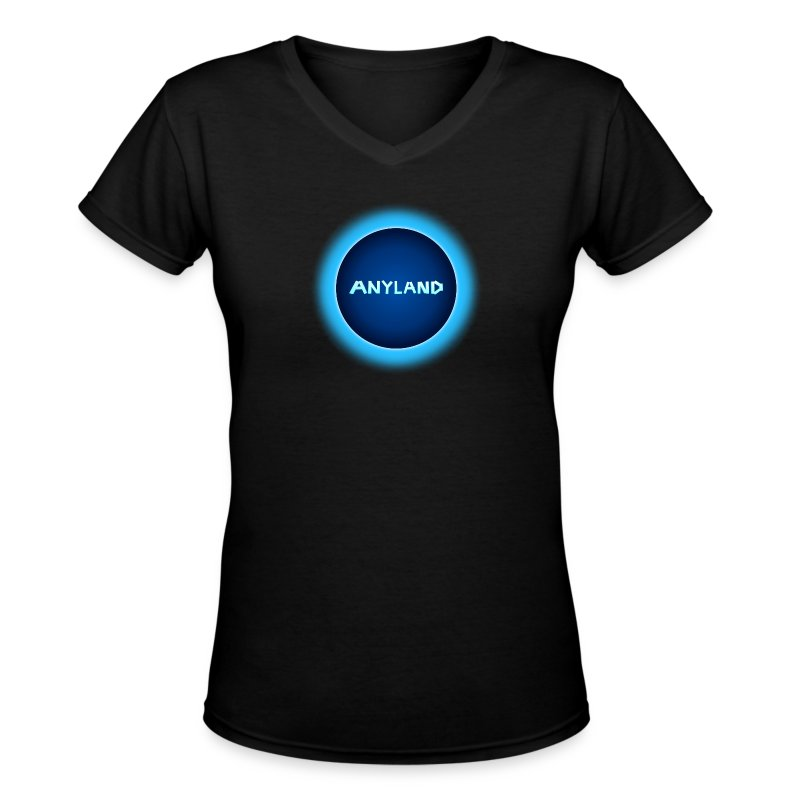 Anyland Guy V-Neck Shirt - Women's V-Neck T-Shirt