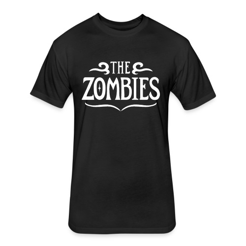 The Zombies (black next level) - Fitted Cotton/Poly T-Shirt by Next Level