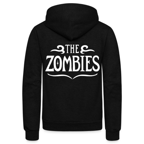 The Zombies (black zip american apparel zip hoodie) - Unisex Fleece Zip Hoodie