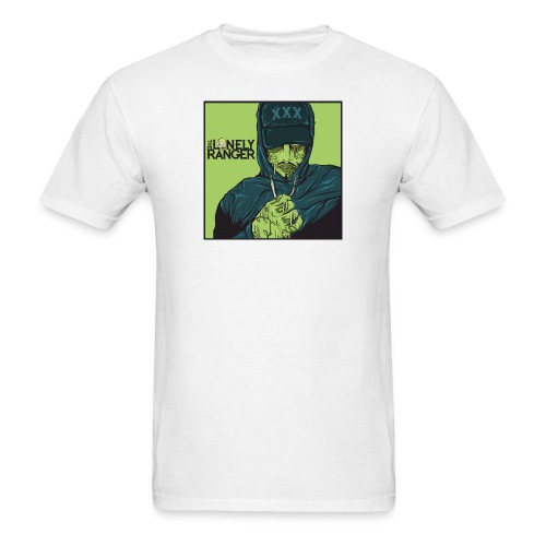 The Lonely Zombie Ranger - Men's T-Shirt