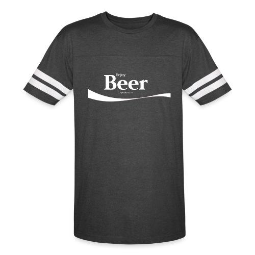Enjoy Beer Vintage Sport T-Shirt - Vintage Sport T-Shirt