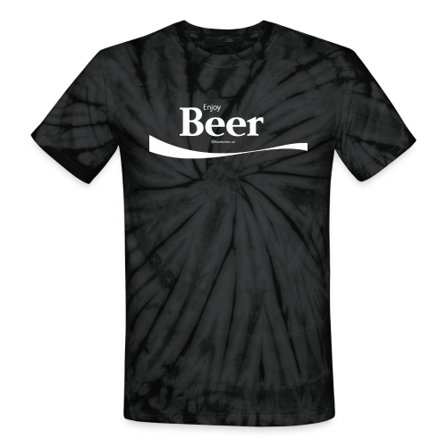 Enjoy Beer Unisex Tie Dye T-Shirt - Unisex Tie Dye T-Shirt