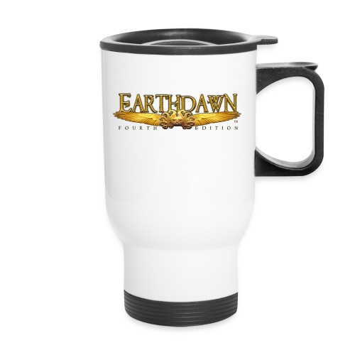 Earthdawn Wings Logo Thermal Mug - Travel Mug