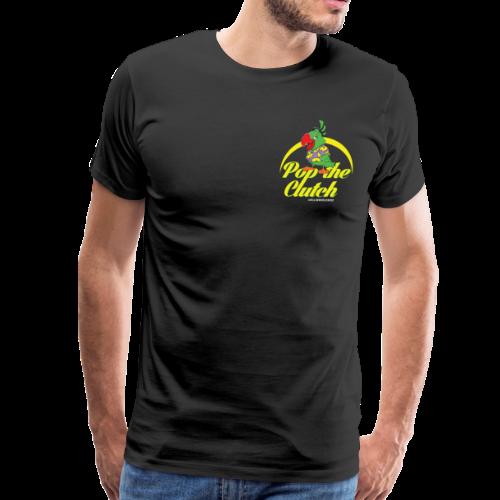 Pop The Clutch Men's T-Shirt - Men's Premium T-Shirt