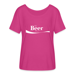 Enjoy Beer Women's Flowy T-Shirt - Women's Flowy T-Shirt