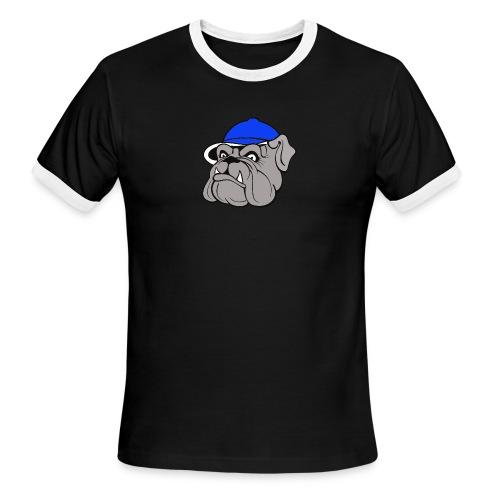 BULLDOG SHORT SLEEVE - Men's Ringer T-Shirt