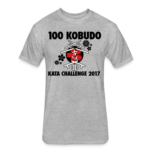 100 Kobudo Kata Challenge 2017 Premium Men's T-shirt - Fitted Cotton/Poly T-Shirt by Next Level