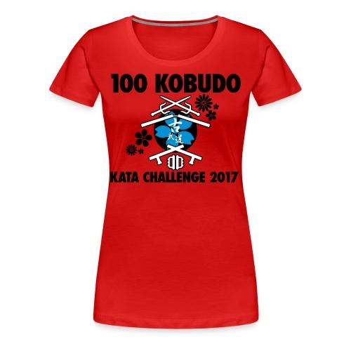100 Kobudo Kata Challenge 2017 Premium Womens T-shirt - Women's Premium T-Shirt