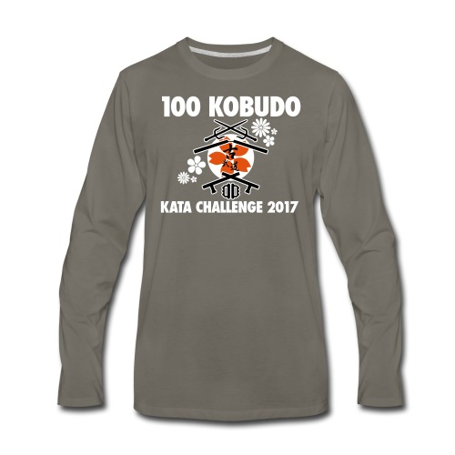 100 Kobudo Kata Challenge 2017 Long Sleeve - Men's Premium Long Sleeve T-Shirt