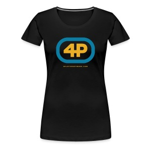 4Player Retro Logo (Color) - Women's T Shirt - Women's Premium T-Shirt