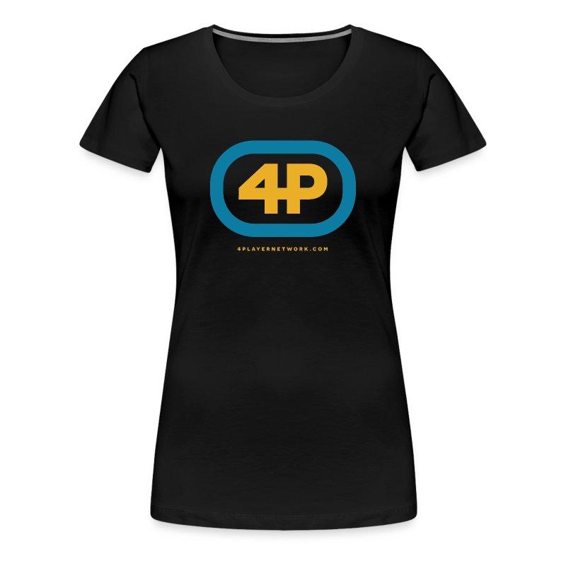 4Player Retro Logo (Color) - Women's T Shirt - Women's Premium T-Shirt