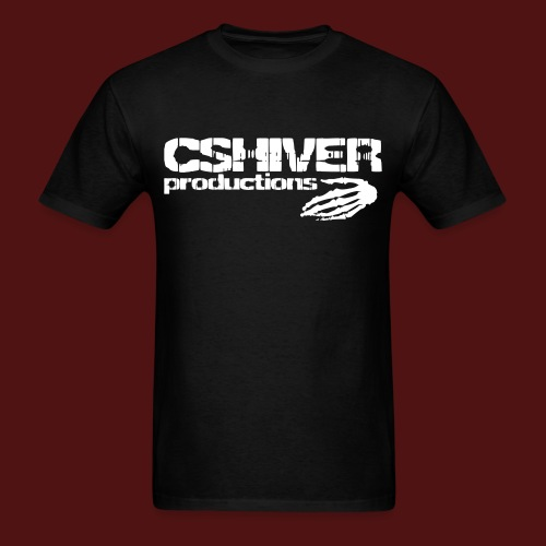 CSHIVER PRODUCTIONS Logo - Men's T-Shirt