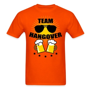 Team Hangover Sunglasses Beer Alcohol Party Funny men's T-Shirt Tee - Men's T-Shirt