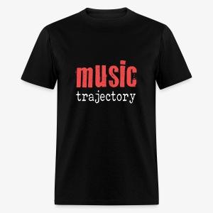 Music Trajectory Tshirt - Men's T-Shirt