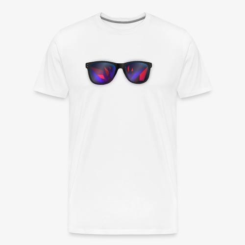 Poly Sunglasses T-Shirt [Large Logo]  - Men's Premium T-Shirt