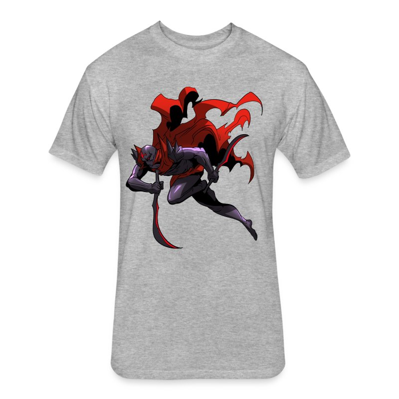 Death from Above - Fitted Cotton/Poly T-Shirt by Next Level