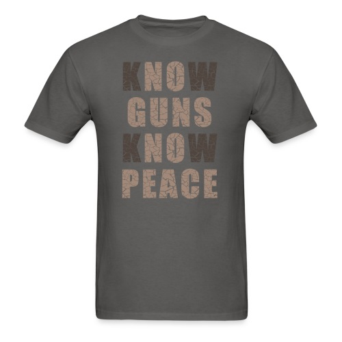 No Guns No Peace - Men's T-Shirt