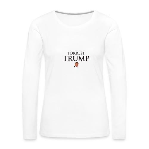 funny trump tees - Women's Premium Long Sleeve T-Shirt