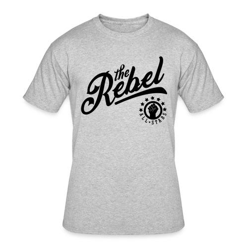 NAT TURNER TEE GREY - Men's 50/50 T-Shirt