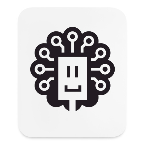 Afrotechmods logo mousepad - Mouse pad Vertical