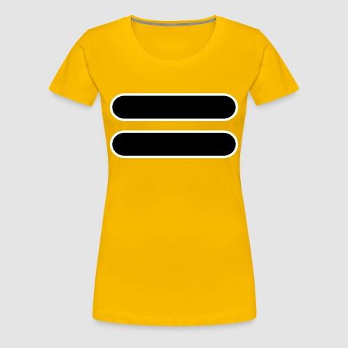 Power Rangers Zeo Stronger Than Before T-Shirt (Yellow) - Women's Premium T-Shirt