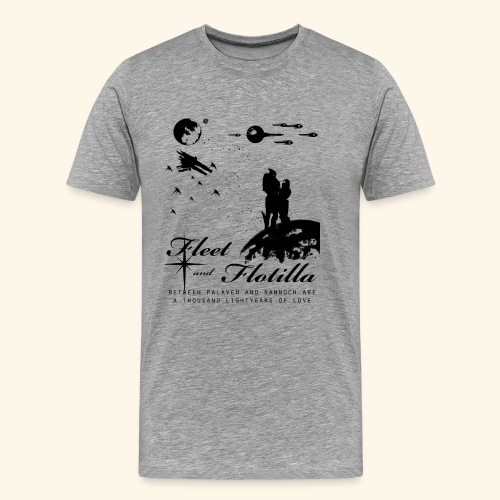 Fleet and Flotilla Shirt (Unisex) - Men's Premium T-Shirt