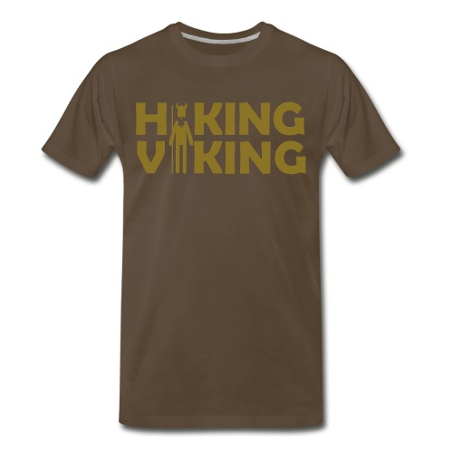 Hiking Viking  - Men's Premium T-Shirt