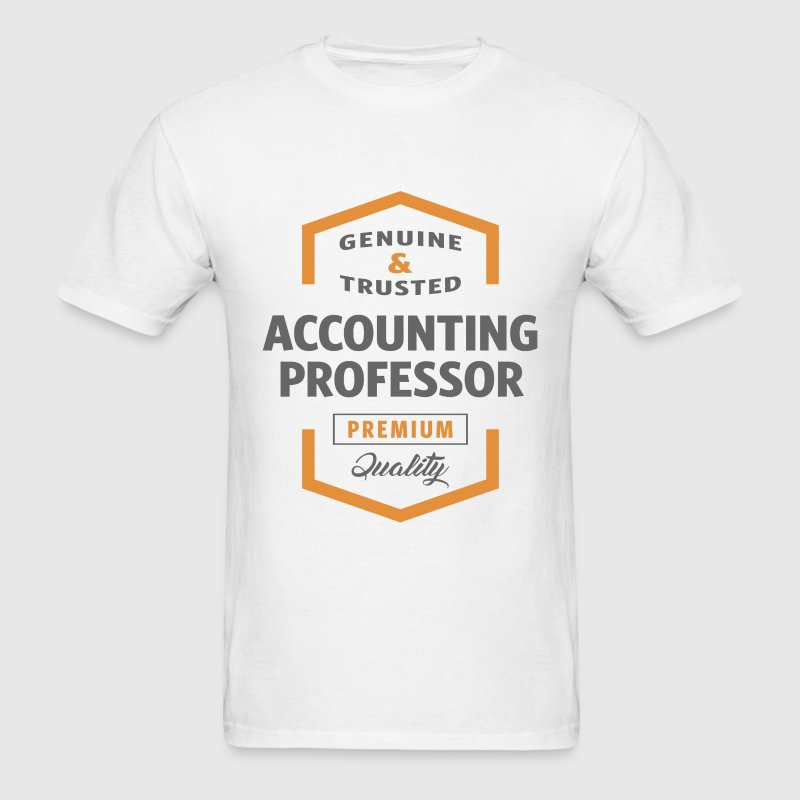 Accounting Professor T-shirt - Men's T-Shirt