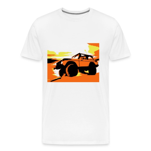Bronco on the Beach - Men's Premium T-Shirt