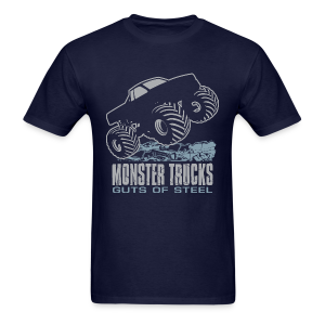Monster Truck Steel Guts - Men's T-Shirt