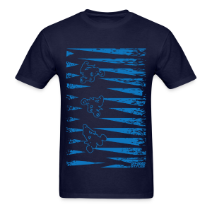 ATV Quad Spike Deco - Men's T-Shirt