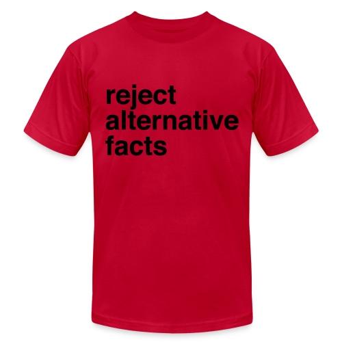 Reject Alternative Facts - Mens Tee - Men's Fine Jersey T-Shirt