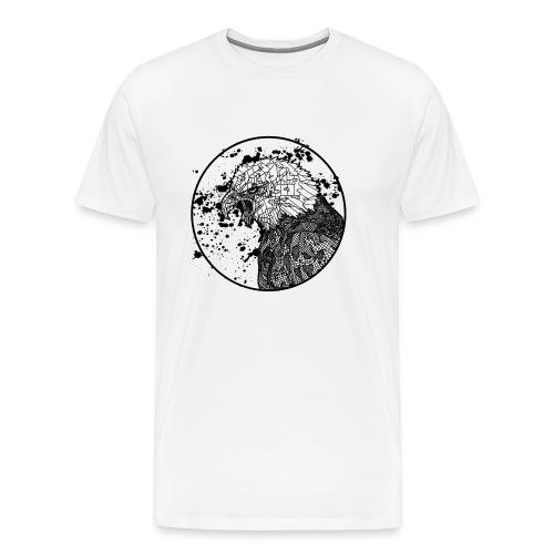Unisex T Shirt: Bald Eagle - Men's Premium T-Shirt