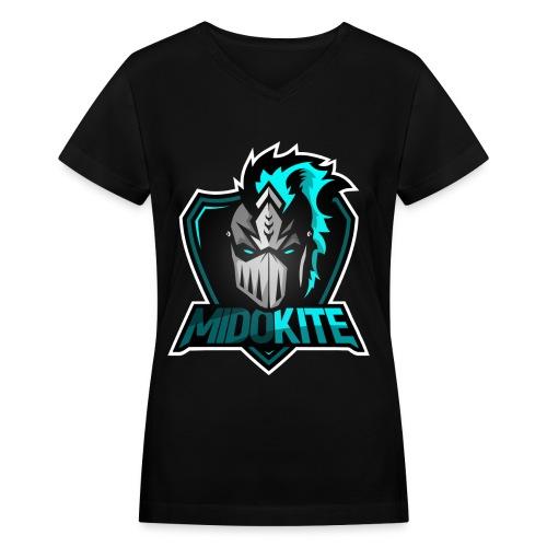 Logo - Women's V-Neck T-Shirt - Women's V-Neck T-Shirt