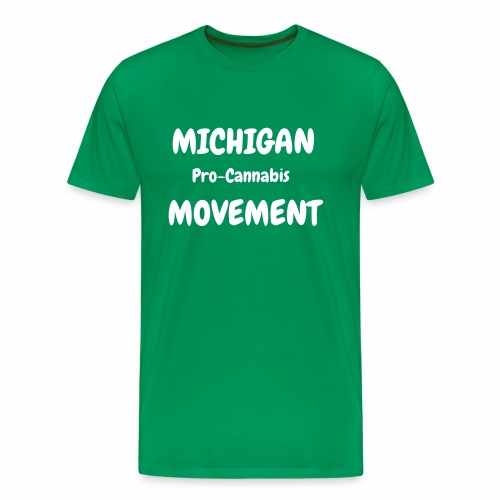 Michigan Pro-Cannabis T-Shirt (MEN) - Men's Premium T-Shirt