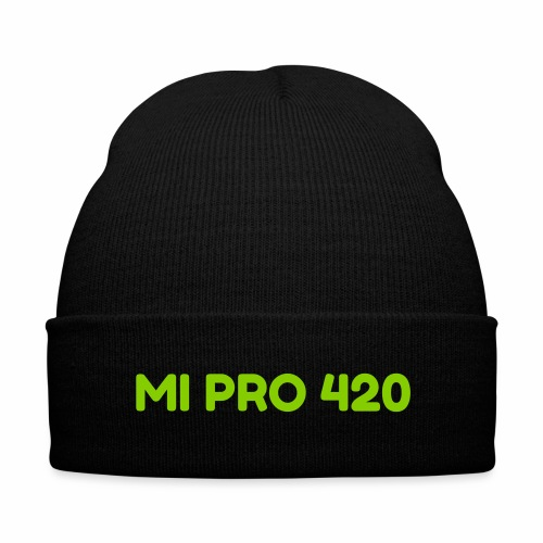 Michigan Pro-Cannabis Beanie - Knit Cap with Cuff Print