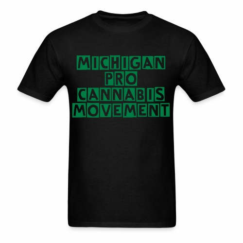Michigan Pro Cannabis T-Shirt (MEN) - Men's T-Shirt