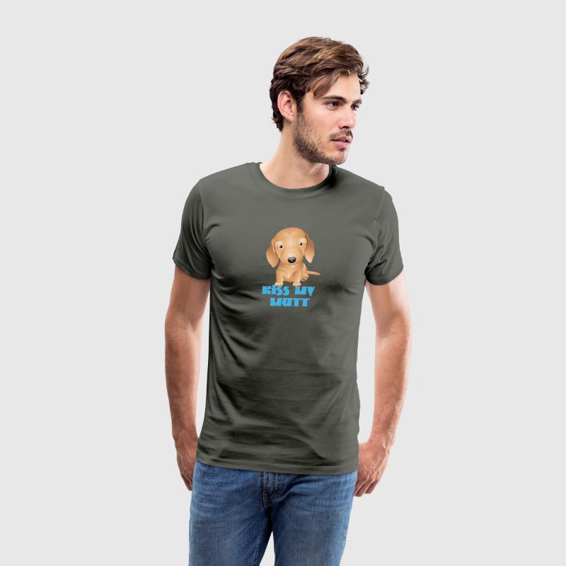 KISS MY MUTT DOG - Men's Premium T-Shirt