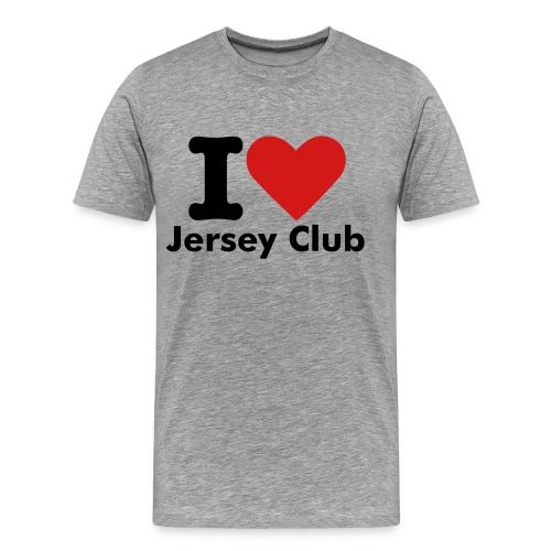 I Love Jersey Club - Men's Premium T-Shirt