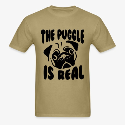 The Puggle is Real - Men's T-Shirt
