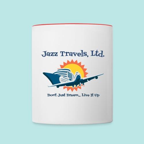 Jazz Travels, Ltd. Coffee Mug - Contrast Coffee Mug