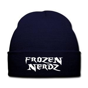 Frozen Nerdz Winter Hat - Knit Cap with Cuff Print