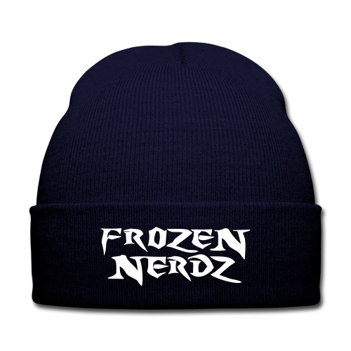 Frozen Nerdz Winter Hat - Knit Cap with Cuff Print