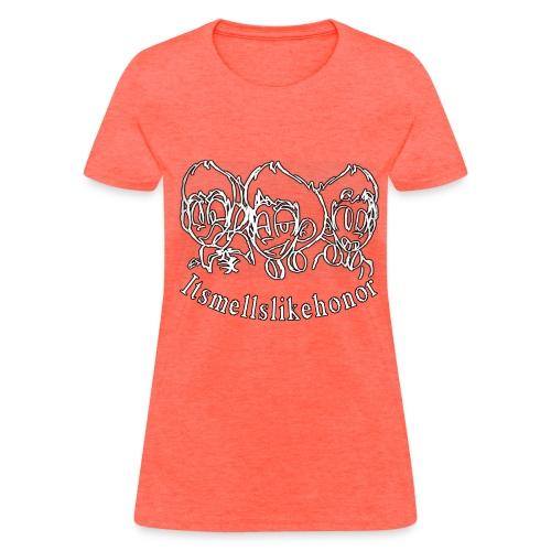 Itsmellslikehonor Banner Logo - Women's T-Shirt