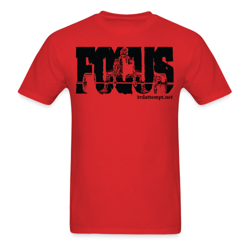 Focus Training (Red) - Men's T-Shirt