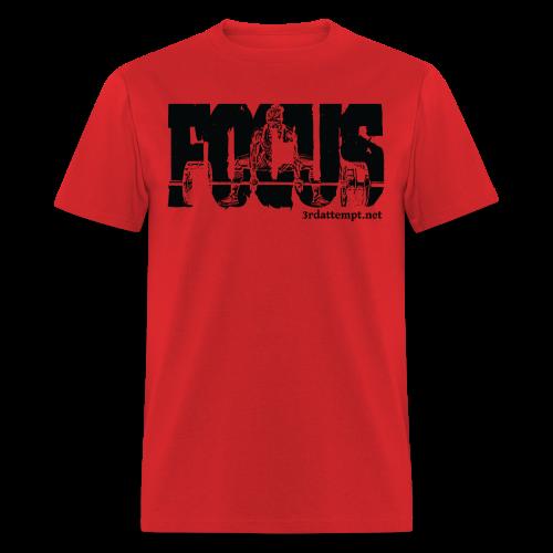 Focus Training (Red) - Men's T-Shirt