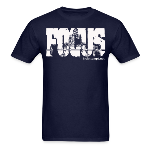 Focus White - Men's T-Shirt