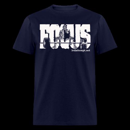 Focus White - Men's T-Shirt