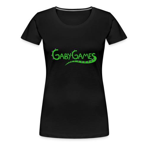 Women's Gaby Games logo T-shirt - Women's Premium T-Shirt