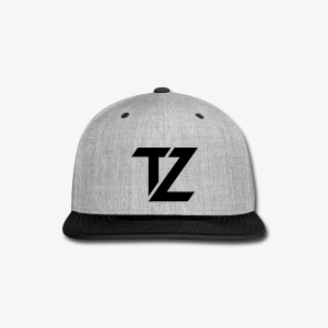 Tech Zen Snap Back (Black) - Snap-back Baseball Cap